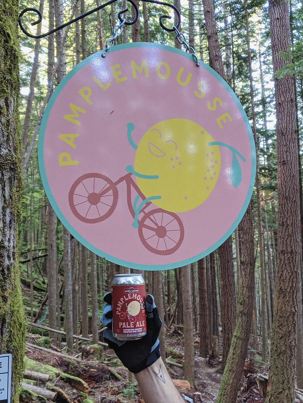 Pamplemousse Pale Ale Squamish Biking Beer