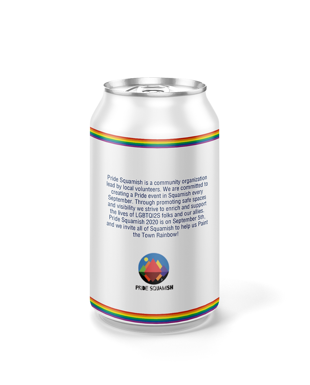 Howe Sound Brewing Pride Squamish Lager