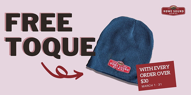 Howe Sound Free Toque Promotion