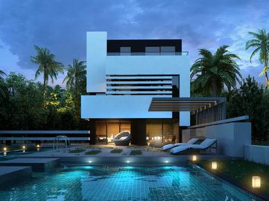 Villa Gece
