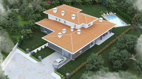 #exteriordesign #villa #landscapingdesig