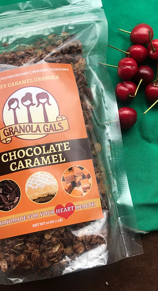 Chocolate Caramel Granola