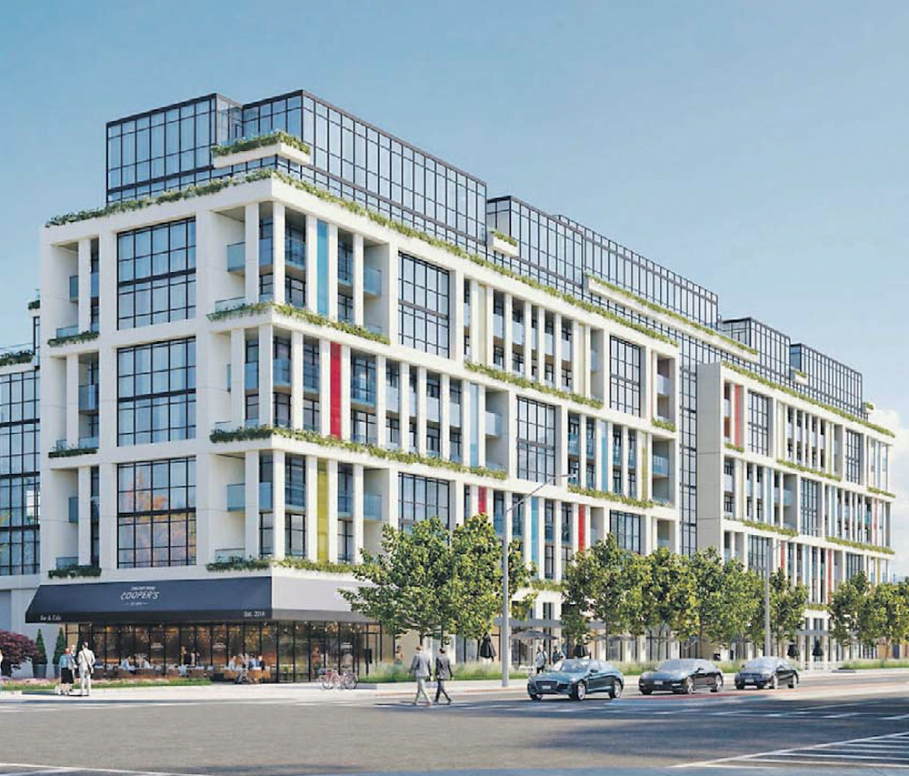 The Condo Store is purchasing 40 per cent of the 185 units of Toronto's 181 East project, pictured in a rendering, for its first post coronavirus investment project.