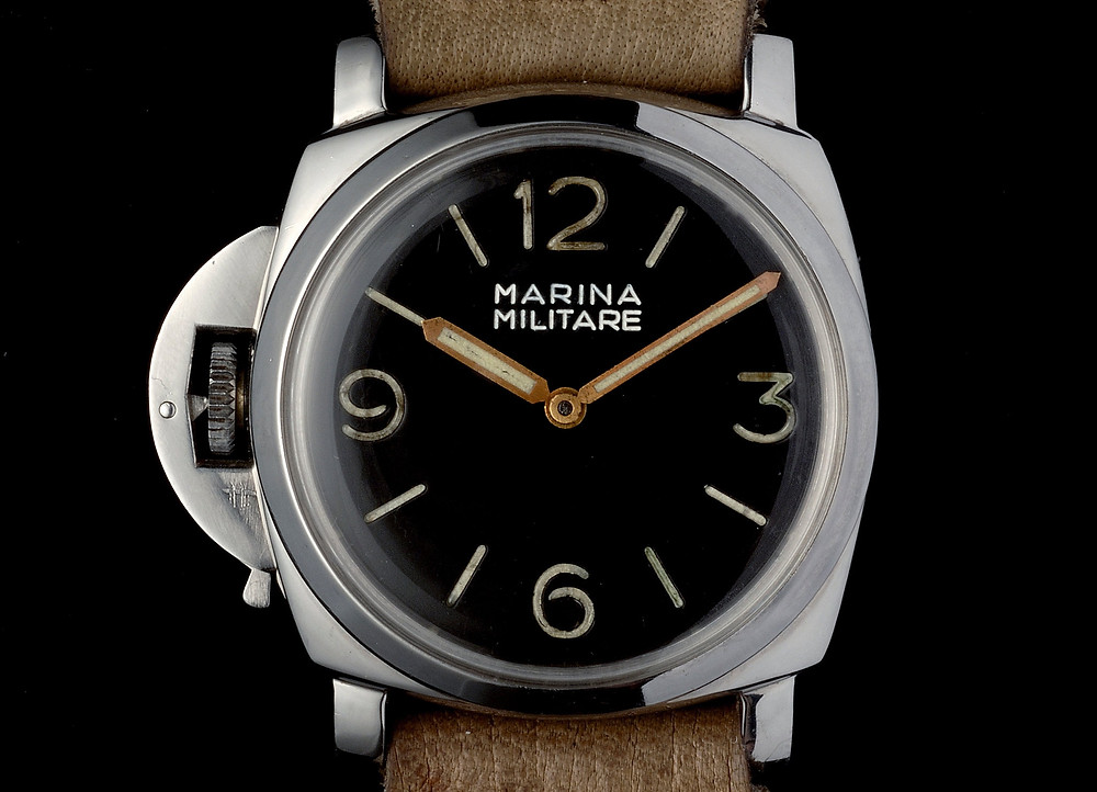 A Panerai Luminor PAMPL010 from the early 1950s