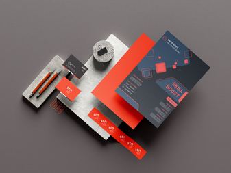 Stationery Mockup design - Rapidalley