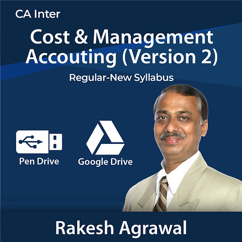 CA INTER CMA VERSION 2.0 BY CA RAKESH AGRAWAL   ENGLISH