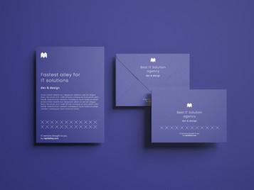 Business Card Mockup design - Rapidalley