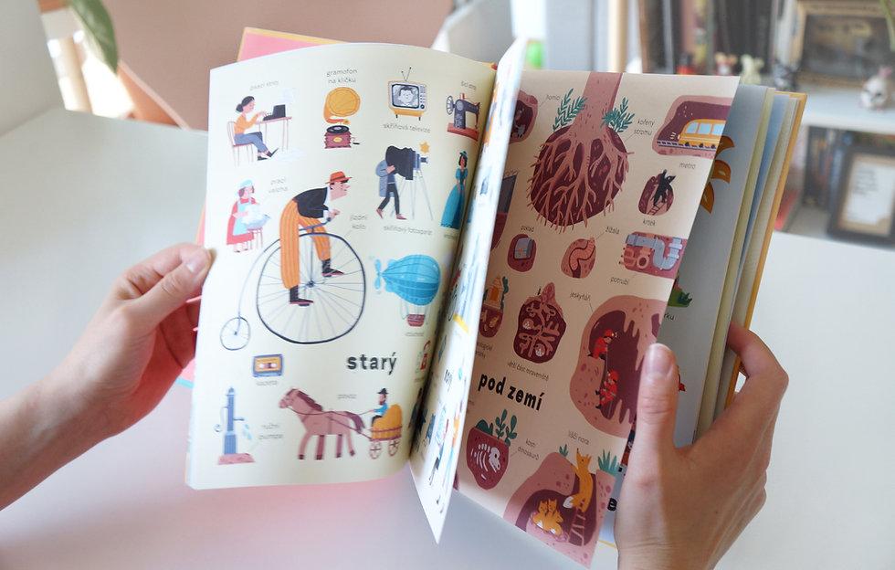 Book Full Of Opposites \ Kniha Plná Protikladû