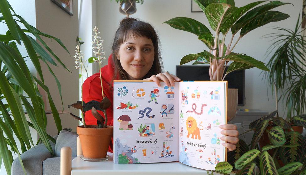 Ekaterina Gaigalova, children's books illustrator
