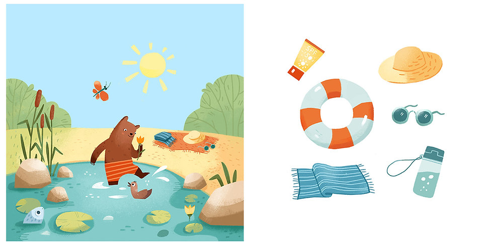 Weather - interactive children's book