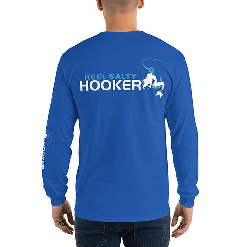 Reel Salty Hooker Men's Long Sleeve Shirt