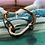 Thumbnail: Leather Back Caramel Fish Hook Bracelet