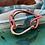 Thumbnail: Leather Back Peach Fish Hook Bracelet