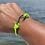 Thumbnail: Moray Eel Bracelet with Gun Metal Fish Hook