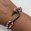 Thumbnail: Gator Series Bracelet with Gun Metal Fish Hook