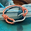 Thumbnail: Clown Fish Bracelet with Silver Metal Fish Hook