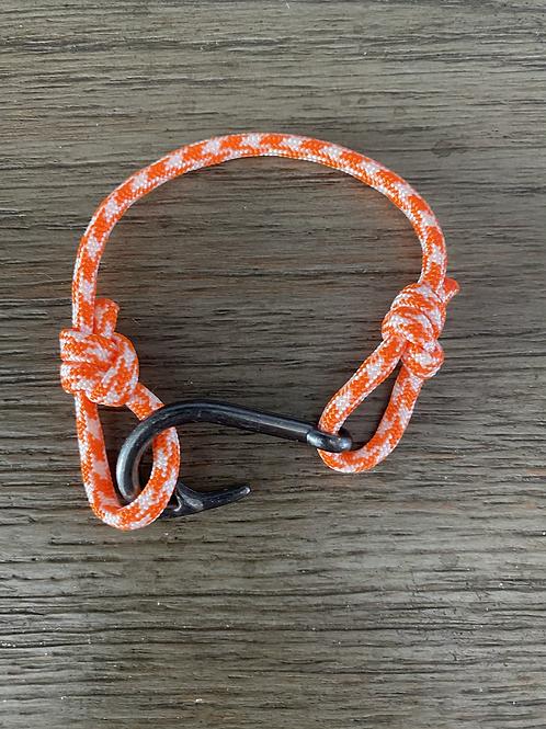 Clown Fish Bracelet with Gun Metal Fish Hook