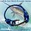 Thumbnail: Sailfish with Gun Metal Fish Hook