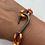 Thumbnail: Nole Bracelet with Gun Metal Fish Hook