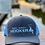 Thumbnail: Reel Salty Hooker Charcoal/Columbia Blue Richardson Hat