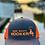 Thumbnail: Reel Salty Hooker Charcoal/Neon Orange Richardson Hat