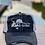 Thumbnail: Reel Salty Hooker Distressed Dirty Washed Black/Grey Hat