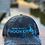 Thumbnail: Reel Salty Hooker Kryptek Neptune/Black Richardson Hat