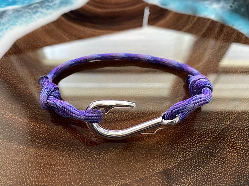 Mermaid Bracelet with Silver Fish Hook