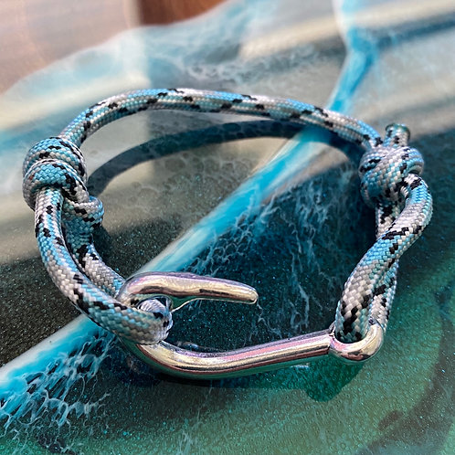 Barracuda Bracelet with Silver Fish Hook