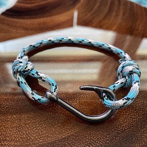 Barracuda Bracelet with Gun Metal Fish Hook