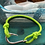 Thumbnail: Moray Eel Bracelet with Silver Fish Hook