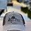 Thumbnail: Reel Salty Hooker Distressed Dirty Washed Khaki/Brown Hat