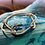 Thumbnail: Leather Back Beige Fish Hook Bracelet