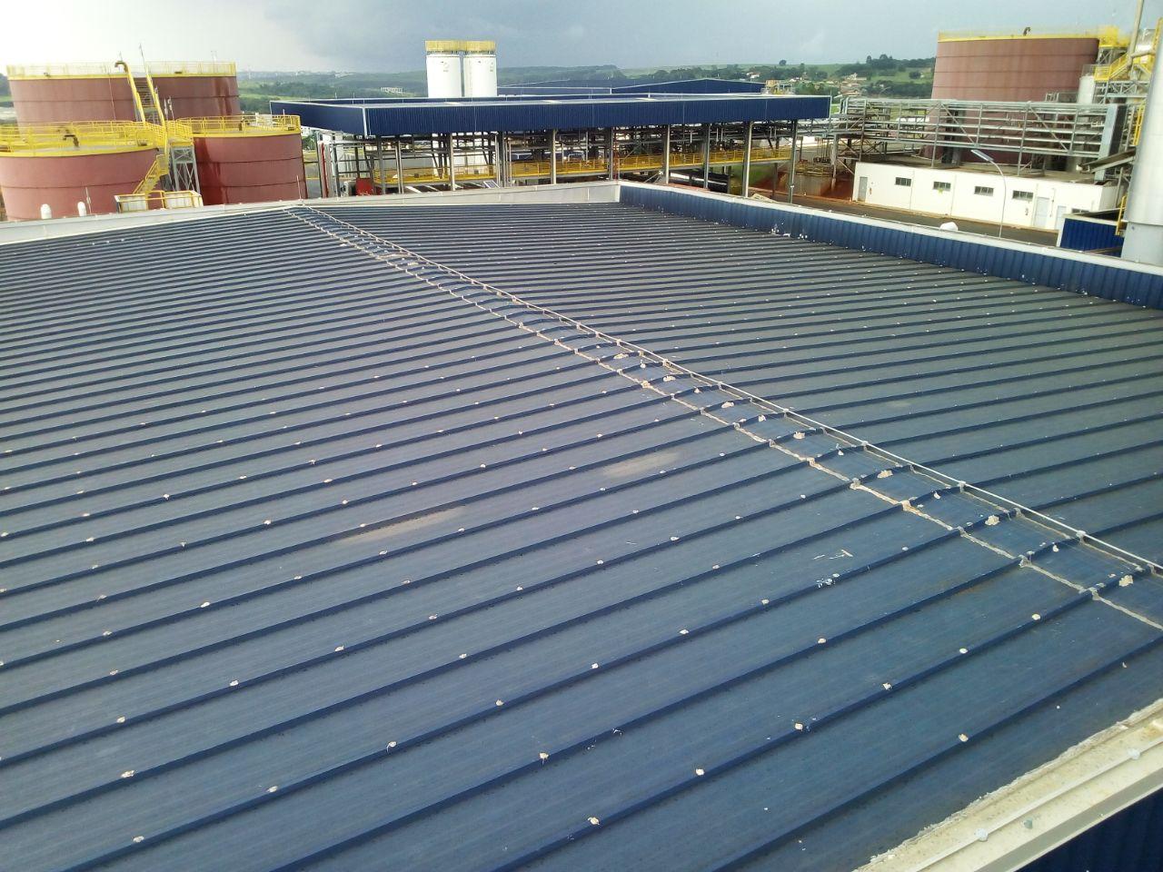 sistema espanta pombos telhado