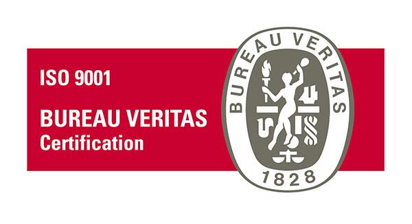 Certificado Bureau Veritas ISO9001