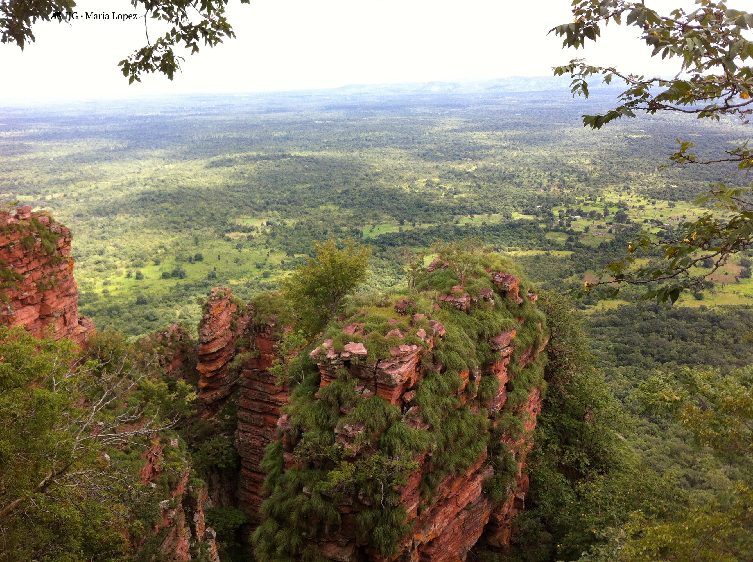paisaje de la Reserva de Dindéfélo