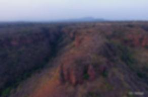 Paisaje de la RNCD visto desde un Drone