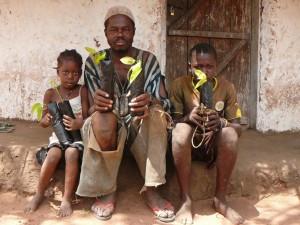 Plantamos zonas buffer en Senegal