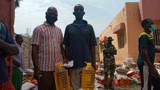 Comunidades locales reciben la ayuda del IJG para hacer frente a la pandemia en Senegal