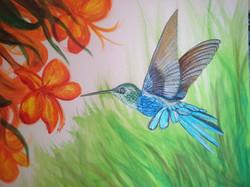 Humming bird finished
