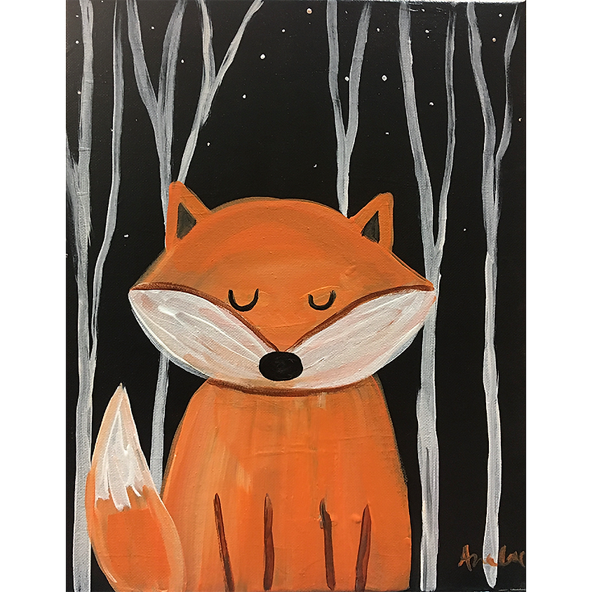 Gogh Kids:  Forest Fox