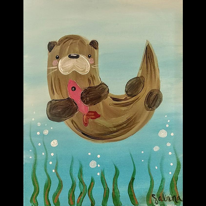 Gogh Kids:  Sea Otter
