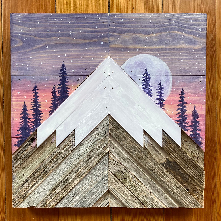 """Rustic Mountain Moon"" at Potter's Vineyard"