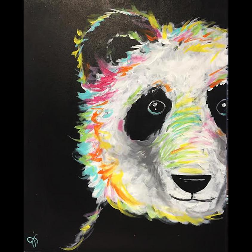 Gogh Kids:  Colorful Panda