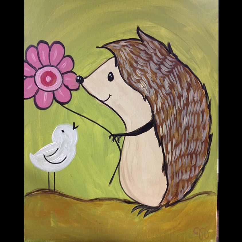 Gogh Kids:  Hedgehog