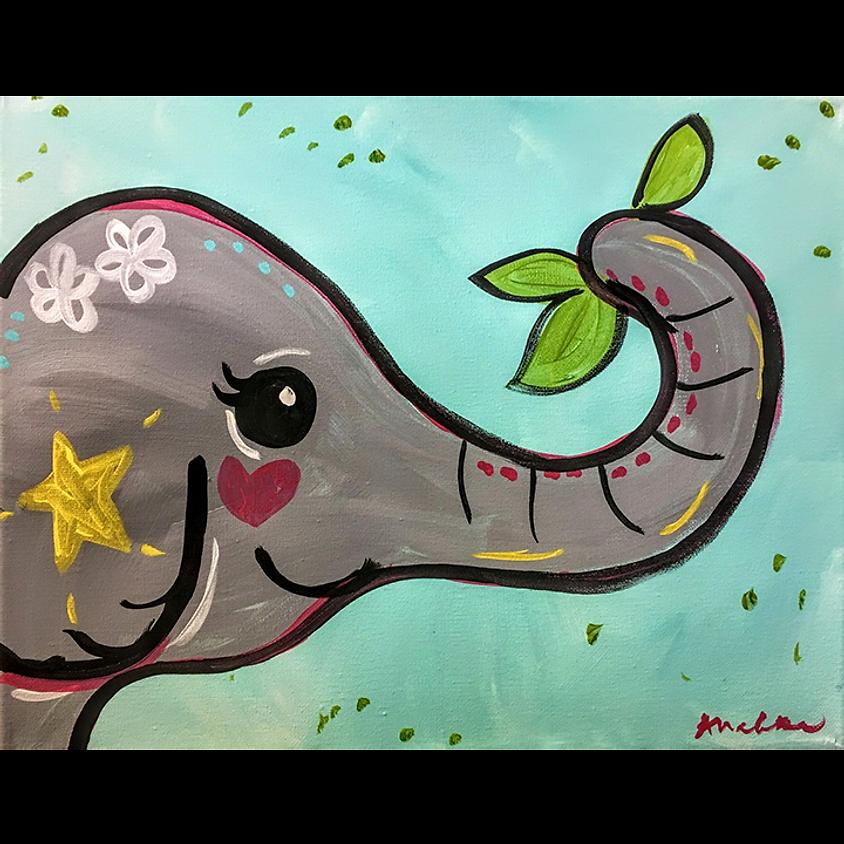 Gogh Kids:  Elephant