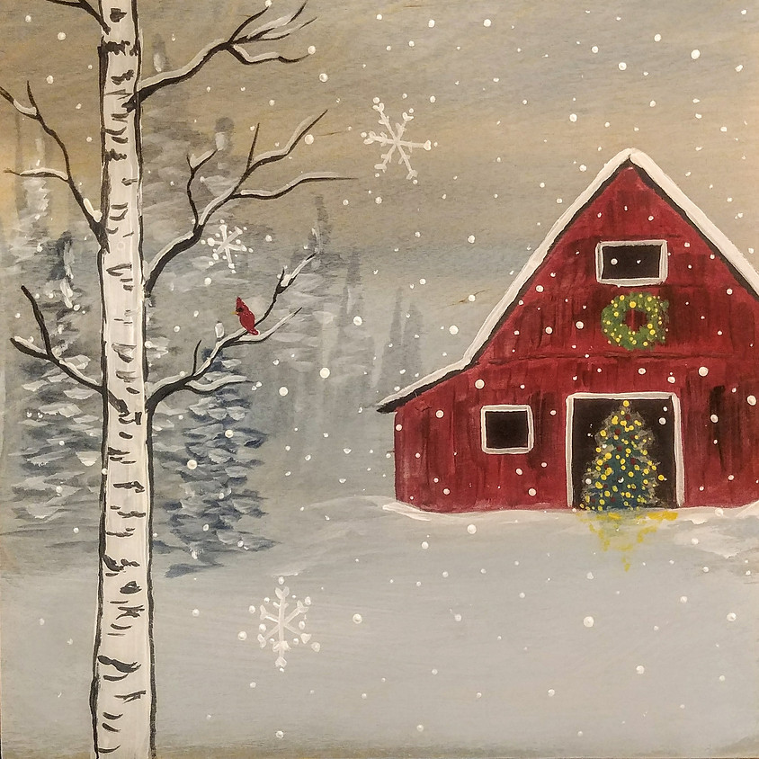 SOLD OUT Holiday Barn at Stickmen Lake Oswego