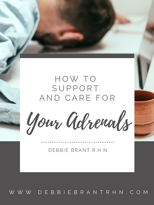 How to Support and Care for your Adrenals eGuide