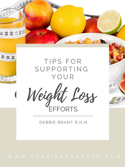 Tips to Support Your Weight Loss Efforts eGuide