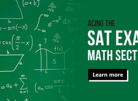 How To Tackle The SAT Math Section!
